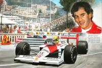 Ayrton Senna, McLaren-Honda