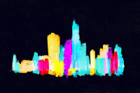 NYC Nightime Glow