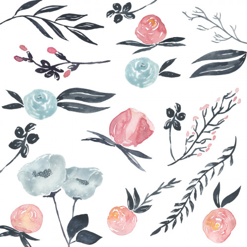 water color floral
