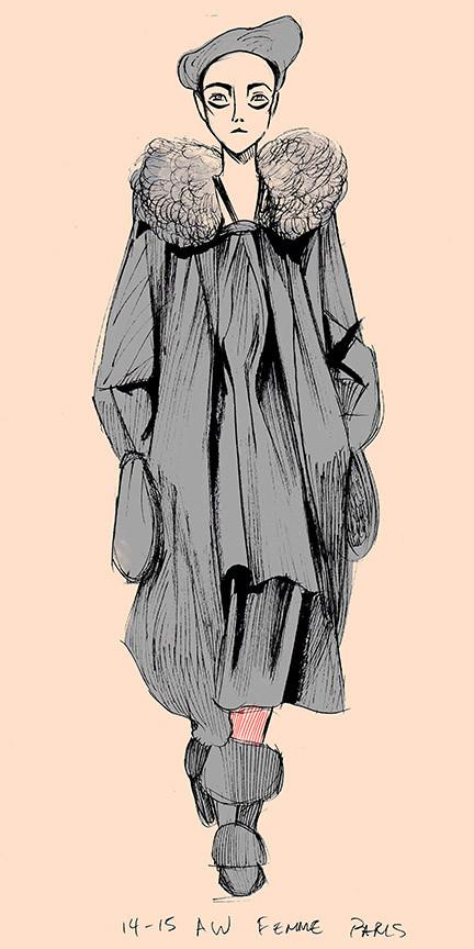 Yohji Yamamoto Illustration No.3